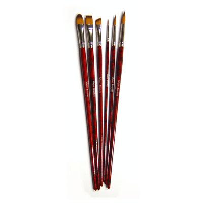 Acrylic Painting Brush Set - Set of 6 - MB570-6