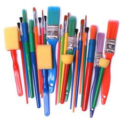 Brushes & Dabbers Set - Set of 25