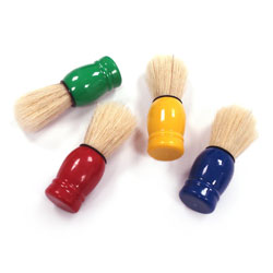 Chubby Short Handle Brush - Assorted Colours - Set of 4
