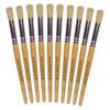 Hog Short Brushes: Round Tip, Size 16 - Pack of 10