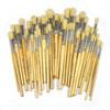 Hog Short Brushes: Round Tip Mixed Set - Set of 100