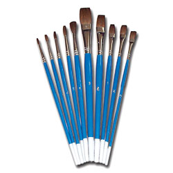 Watercolour Brush Set - Set of 10