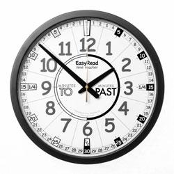 Easy Read Time Teacher Playground Clock - Past & To - 36cm Diameter