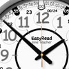Easy Read Time Teacher Playground Clock - 24 Hour - 36cm Diameter - ERPG-DIG