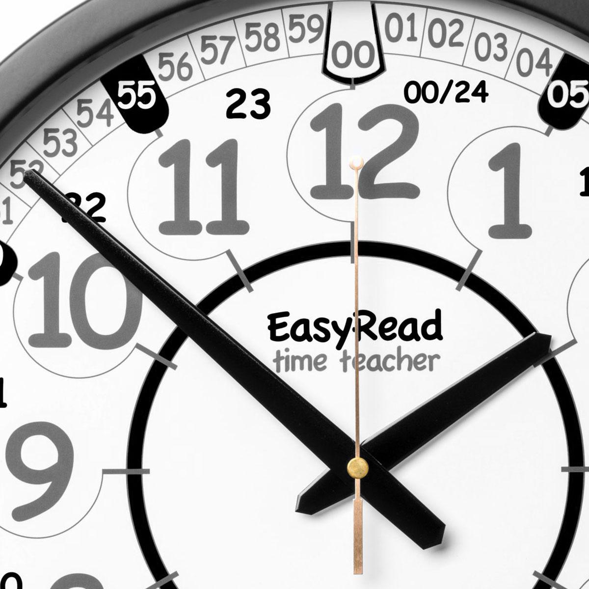 Buy School Easy Read Time Teacher Playground Clock 24