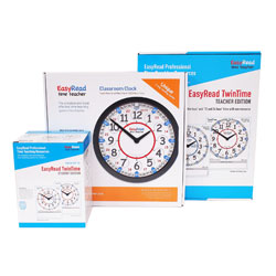 Easy Read Time Teacher Classroom 24 Hour Bundle - Small Set
