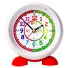 Easy Read Time Teacher Alarm Clock - Rainbow Face - Past & To - ERAC-COL-PT