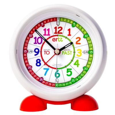 EasyRead Time Teacher Alarm Clock - Rainbow Face - Past & To - ERAC2-COL-PT