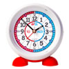 EasyRead Time Teacher Alarm Clock - Red & Blue Face - Past & To