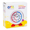 Easy Read Time Teacher Alarm Clock - Red & Blue Face - Past & To - ERAC2-RB-PT