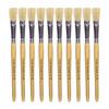 Hog Short Brushes: Flat Tip, Size 14 - Pack of 10