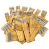 Hog Long Brushes: Round Tip Mixed Set - Set of 200
