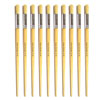 Hog Long Brushes: Round Tip, Size 16 - Pack of 10