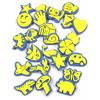 Crafty Foam Shape Stamps - Set of 24 - MB713-24