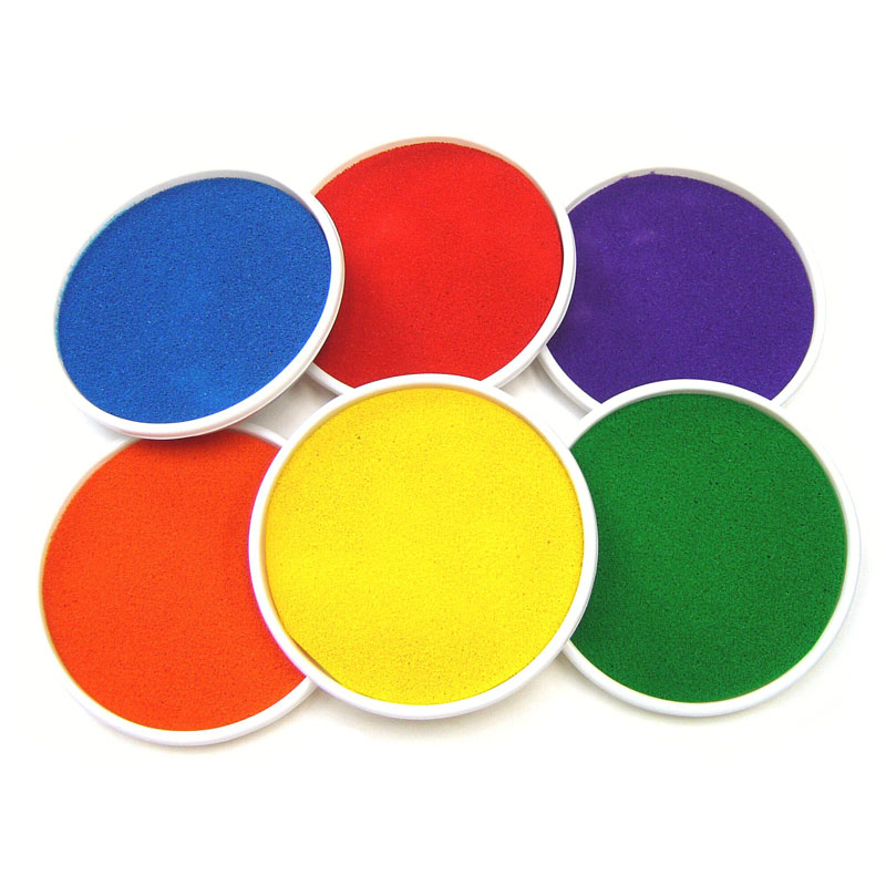 Giant Ink Pads - Mixed Colours Set of 6 - MB1016-6