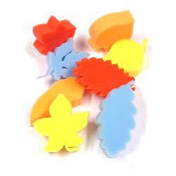 Foam Leaf Shapes - Set of 8
