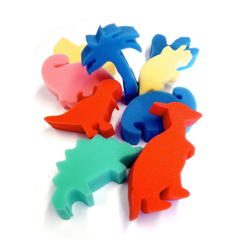 Foam Dinosaur Shapes - Set of 9 - MB710DIN-9