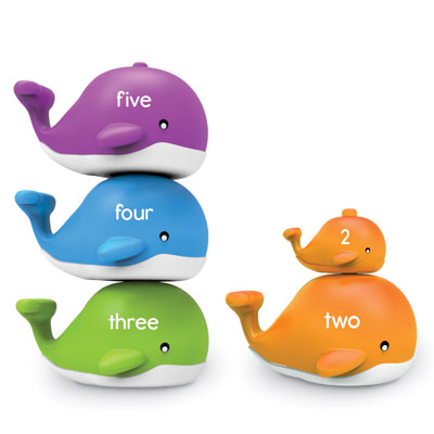 Snap-n-Learn Stacking Whales - by Learning Resources - LER6709