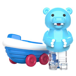 Zoomigos Hippo & Boat Car - by Educational Insights