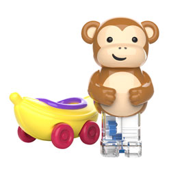 Zoomigos Monkey & Banana Car - by Educational Insights