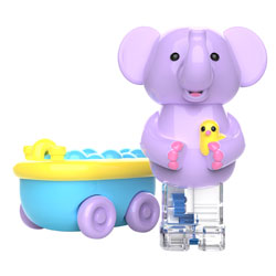 Zoomigos Elephant & Bathtub Car - by Educational Insights