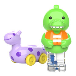 Zoomigos Alligator & Floatie Car - by Educational Insights