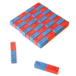 Small 40mm Ferrite Bar Magnets (Set of 20)