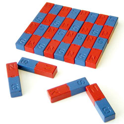 Large 50mm Ferrite Bar Magnets (Set of 20)