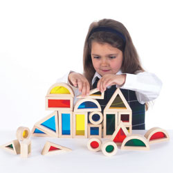 Rainbow Block Set - Set of 24