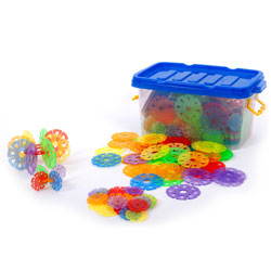 Translucent Linking Discs - Set of 510 Pieces