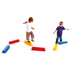Step-a-Logs Balancing Path - Set of 6 Logs