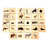 Wild Animal Family Match Tiles - Set of 28 - CD73408