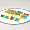 Translucent Colour Blocks - Set of 50 - CD73083