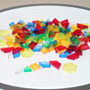 Translucent Hollow Pattern Blocks - Set of 180 - CD73093