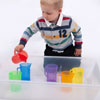 Translucent Colour Jug Set - Set of 6 - CD73103