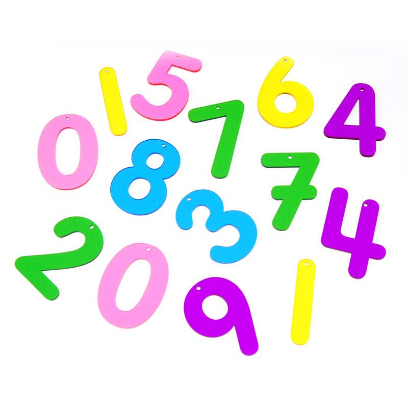 Rainbow Numbers - Set of 14 - CD72421