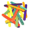 Coloured Lollipop Sticks - Large (150mm x 18mm) - Pack of 100
