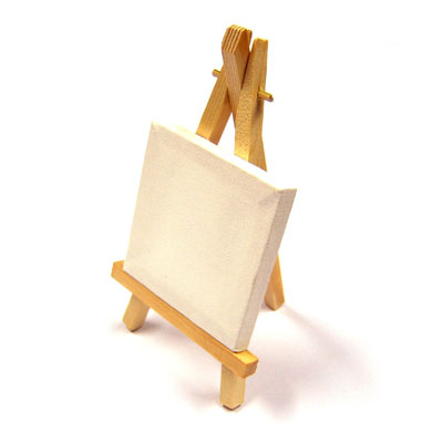 Mini Canvas with Easel - MB-CAN0303E