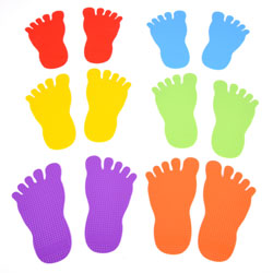 Foot Marks - Set of 12