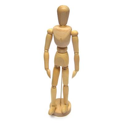 Wooden Manikin - 30cm Tall - MB7830