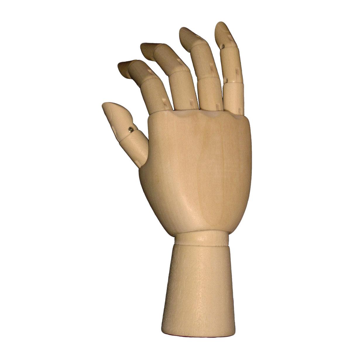 Wooden Hand 18cm Tall