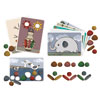 Eco Friendly Junior Rainbow Pebbles - Set of 36 Pebbles and 8 Activity Cards - CD75152