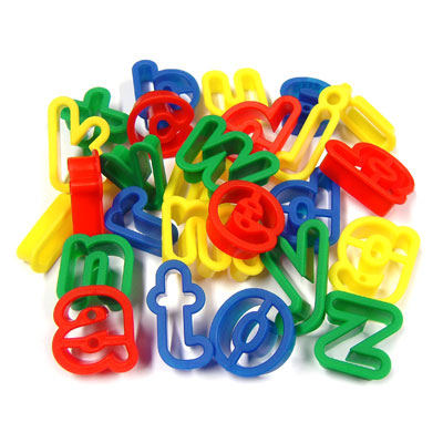 Alphabet Cutters - Lower Case - Set of 26 - MB9002-26