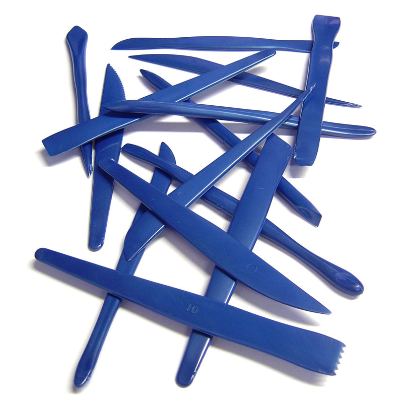 Plastic Clay Tools - Set of 14 - MB750-14