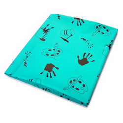 Large Indoor/Outdoor Plastic Splash Mat - 1.5m x 1.5m