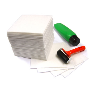 Safeprint Foam Sheets 165mm x 165mm - 3mm Thick - Pack of 50 - MB79501-50
