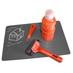 Polymer Printing Blocks 300mm × 300mm - Pack of 10