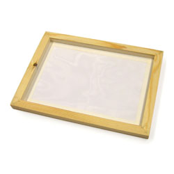Pre-Meshed Screen Printing Frame - A4 Size