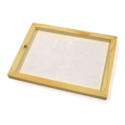 Pre-Meshed Screen Printing Frame - A4 Size - MB78524