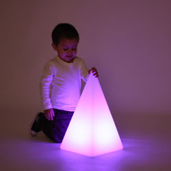 Sensory Mood Light Pyramid - 480mm